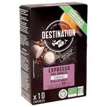 Destination Expresso Arabica Eko kava, 10 kapsula, 55 g