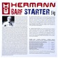 Hermann Barf Starter Hrana za pse (40x125 g) 5 kg