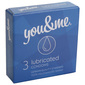 You&Me Lubricated prezervativi 3/1