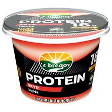 Z bregov Protein Skyr jogurt jagoda 200 g