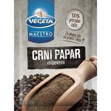 Vegeta Maestro Crni papar mljeveni 20 g