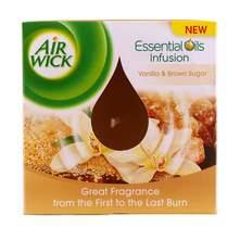 Airwick Essential Oils Infusion Mirisna svijeća vanilla&brown sugar 105 g
