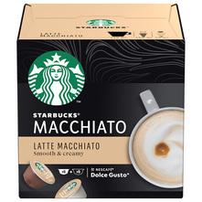 Starbucks Latte Macchiato by Nescafe Dolce Gusto kava, 12 kapsula/6 napitaka, 129 g
