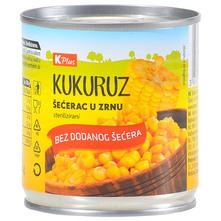K Plus Kukuruz šećerac u zrnu 140 g