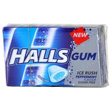 Halls Žvakaće gume peppermint 18 g