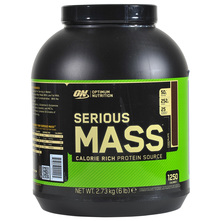 Optimum Nutrition Serious Mass Prah chocolate 2,73 kg