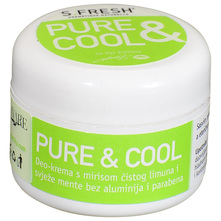S.Fresh Pure&Cool Deo krema limun i menta 30 ml
