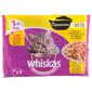 Whiskas Casserole Hrana za mačke izbor peradi 4x85 g