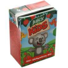 Juicy Kids 100% jagoda sok 0,2 l