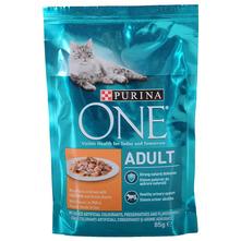 Purina One Adult Hrana za odrasle mačke piletina i mahune 85 g
