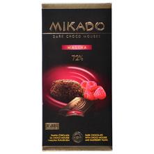 Mikado Tamna čokolada sa choco mousse i malina punjenjem 150 g