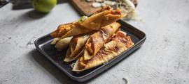 Rolice s piletinom i sirom (Taquitosi)