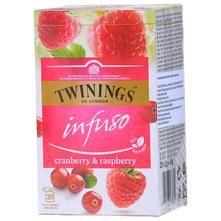 Twinings Infuso Čaj brusnica i malina sa cvijetom bazge 40 g