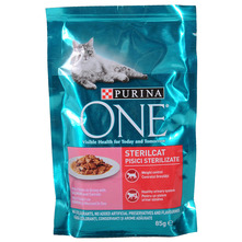 Purina One Sterilcat Hrana za odrasle mačke losos i mrkva 85 g