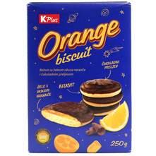 Orange biskvit K Plus 250 g