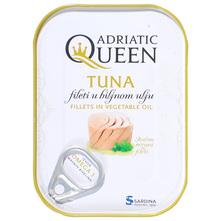 Adriatic Queen Tuna fileti u biljnom ulju 73,5 g