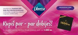 Kupi Libresse proizvode i sudjeluj u nagradnoj igri