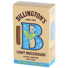 Billington's Light Muscovado Svijetlo smeđi šećer 500 g