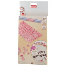 Zenker Modeli slova za ukrašavanje torte