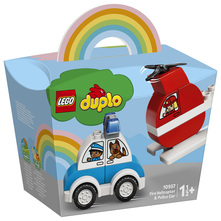 Lego Vatrogasni helikopter i policijski auto
