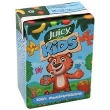 Juicy Kids 100% multivitamin sok 0,2 l