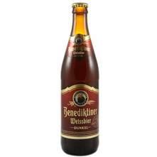 Benediktiner Weissbier Dunkel pivo 0,5 l