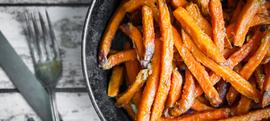 Prženi slatki krumpir
