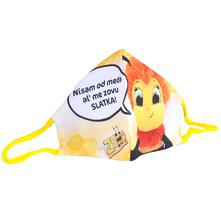 Zumić Slatka Zlatka Dječja maska za lice pamučna