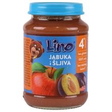 Lino Kašica jabuka i šljiva 190 g