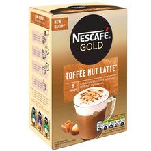 Nescafe Gold toffee nut latte 156 g
