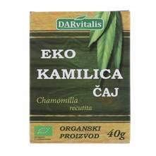 Darvitalis Čaj kamilica eko 40 g