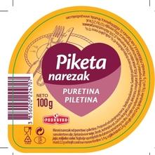 Podravka Piketa Mesni narezak puretina i piletina 100 g