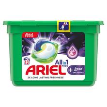 Ariel Allin1 Deterdžent Lenor unstoppables 13 tableta