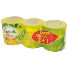 Bonduelle Gold Kukuruz šećerac 3x140 g