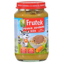 Frutek Kašica od povrća s govedinom i rižom 190 g
