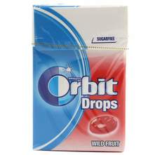 Orbit Drops wild fruit bomboni 33 g