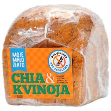 Moje Malo Zlato Kruh bez glutena quinoa&chia sjemenke 300 g