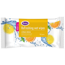 Violeta ReFreshing Vlažne maramice citrus fresh 18/1