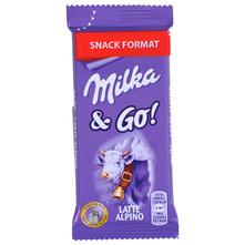 Milka&Go! Snack mliječna čokolada 45g