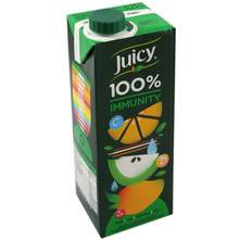 Juicy 100% immunity sok 0,75 l