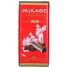Mikado Mliječna čokolada riža 75 g