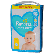Pampers Active Baby Pelene, veličina 2 (4-8 kg) 76/1