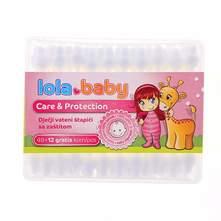 Lola Baby Care&Protection Vateni Štapići za uši 48+12 komada gratis