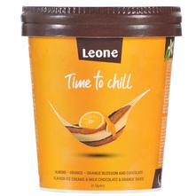 Leone Sladoled čokolada, naranča, badem 450 ml