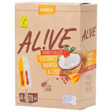 Alive Sladoled coconut, mango&chia 4x70 ml