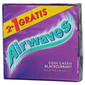 Airwaves Žvakaća guma blackcurrant 3x14 g 2+1 gratis