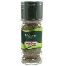 Kotanyi Mažuran bočica 10 g