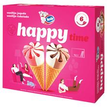 Ledo Happy Time Sladoled vanilija-jagoda, vanilija-čokolada 6/1 720 ml