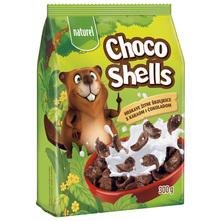 Naturel Choco Shells Hrskave žitne školjkice  s kakaom i čokoladom 300 g
