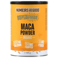 Numbers Are Good Superfoods Maca powder organic 500 g